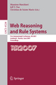 Web Reasoning and Rule Systems - Massimo Marchiori; Jeff Z. Pan; Christian De Sainte Marie