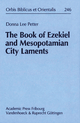 The Book of Ezekiel and Mesopotamian City Laments - Donna Lee Petter