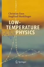 Low-Temperature Physics - Christian Enss, Siegfried Hunklinger