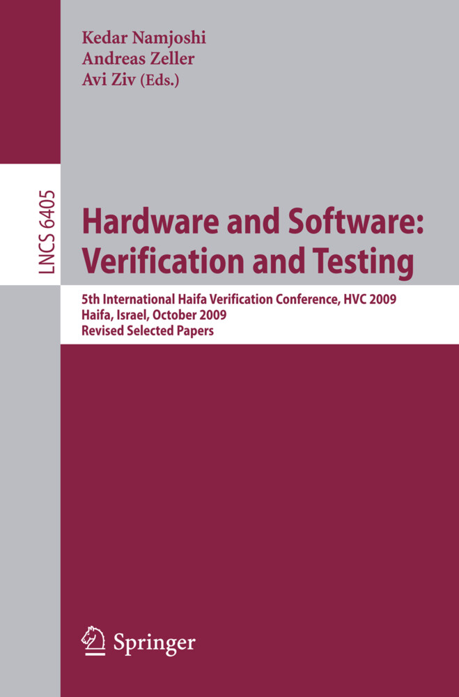 Hardware and Software: Verification and Testing als Buch von - Springer-Verlag GmbH