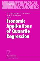 Economic Applications of Quantile Regression (Studies in Empirical Economics)
