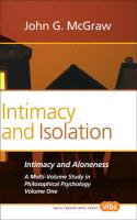 Intimacy and Isolation.