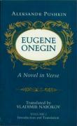 Eugene Onegin: A Novel in Verse: Text: Text v. 1 (Bollingen Series (General))