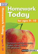 Homework Today for Ages 9-10 - Brodie, Andrew