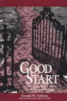 Good Start: A Guidebook for New Faculty in Liberal Arts Colleges