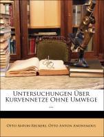 Untersuchungen Über Kurvennetze Ohne Umwege ...