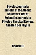 Physics Journals: Bulletin of the Atomic Scientists