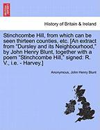 "Stinchcombe Hill, from which can be seen thirteen counties, etc. [An extract from ""Dursley and its Neighbourhood,"" by John Henry B"