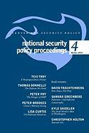 National Security Policy Proceedings: Winter 2010 Tom Donnelly Author
