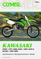 Clymer Kawasaki KX80 1991-2000, KX85 2001-2010 & KX100 1989-2009