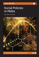 Social Policies in Malta (Social Policies in Small States, Band 3)