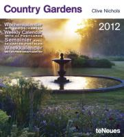 Country Gardens 2012 Postkartenkalender: Wochenkalender