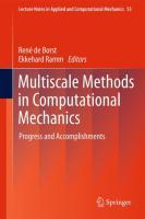 Multiscale Methods in Computational Mechanics
