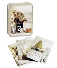 Pale and Interesting Notecards in Tin - Created by Ryland Peters & Small and CICO Books