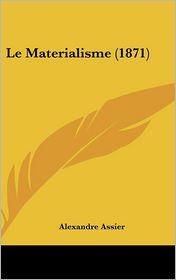 Le Materialisme (1871)