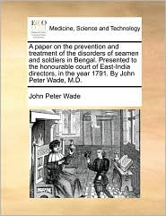 Paper on the Prevention and Treatment of the Disorders of Se