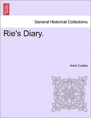 Rie's Diary. - Ann Coates