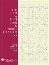 State by State Guide to Human Resources Law, 2011 Edition - Buckley, John F., IV / Green, Ronald M.