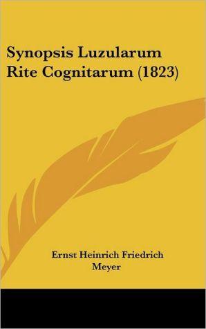 Synopsis Luzularum Rite Cognitarum (1823) - Ernst Heinrich Friedrich Meyer