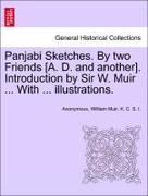 Anonymous: Panjabi Sketches. By two Friends [A. D. and anoth
